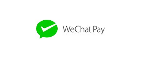 WeChatPayの決済方法が初期搭載